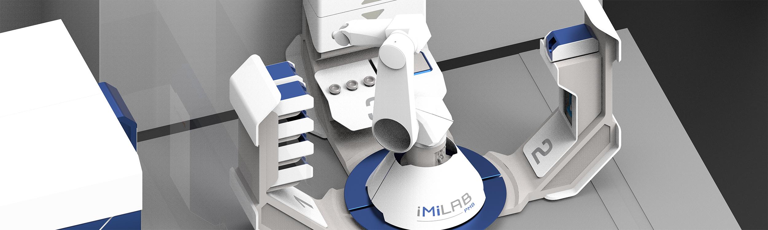imilab radiochemistry microfluidic synthesis radiopharmaceuticals pet imaging imagine PMB Alcen